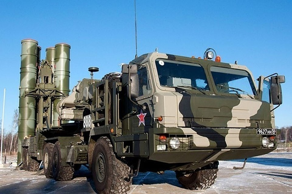 ЗРК С-400 «Триумф». Фото: Минобороны РФ