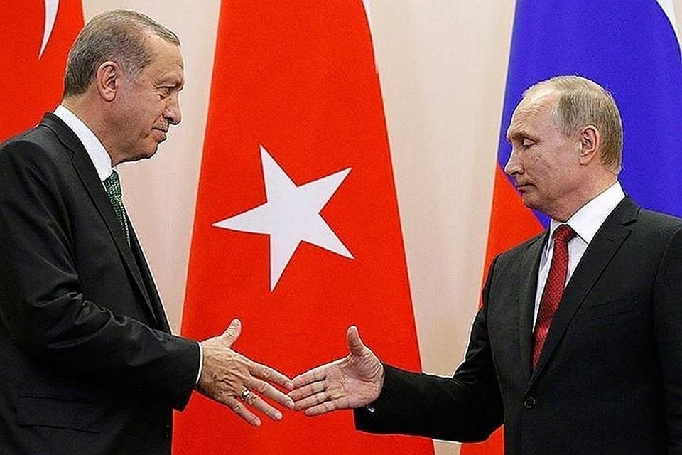 Переговоры Путина и Эрдогана в Анкаре продолжались полтора часа
