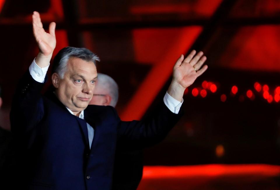 Премьер-министр Венгрии Виктор Орбан заручился поддержкой избирателей на прошедших выборах.