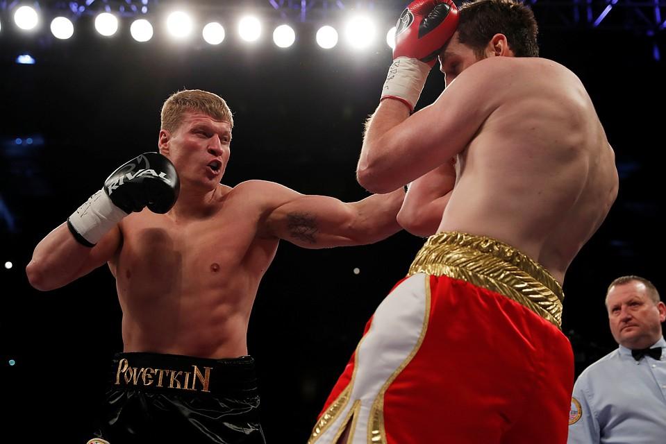 31 марта Александр Поветкин побил другого британского боксера - Дэвида Прайса.