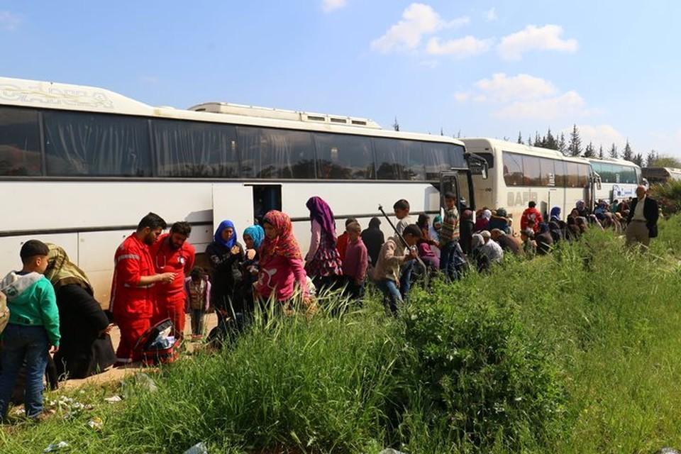 Завершен вывод боевиков из сирийской Думы