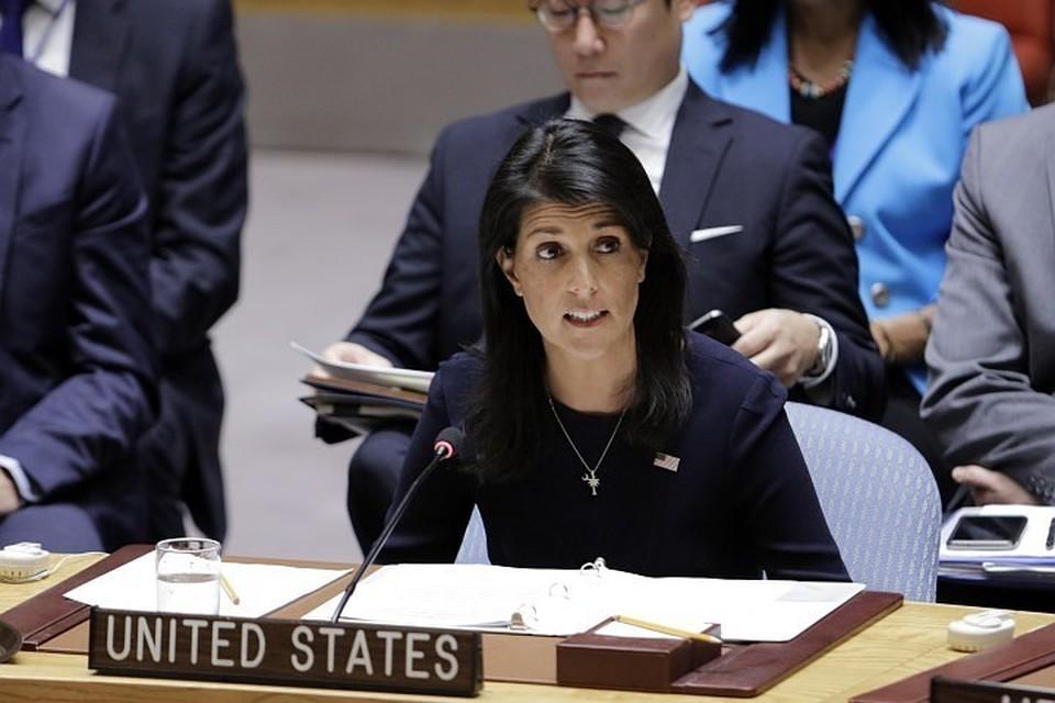 Постоянный представитель США при ООН Никки Хейли