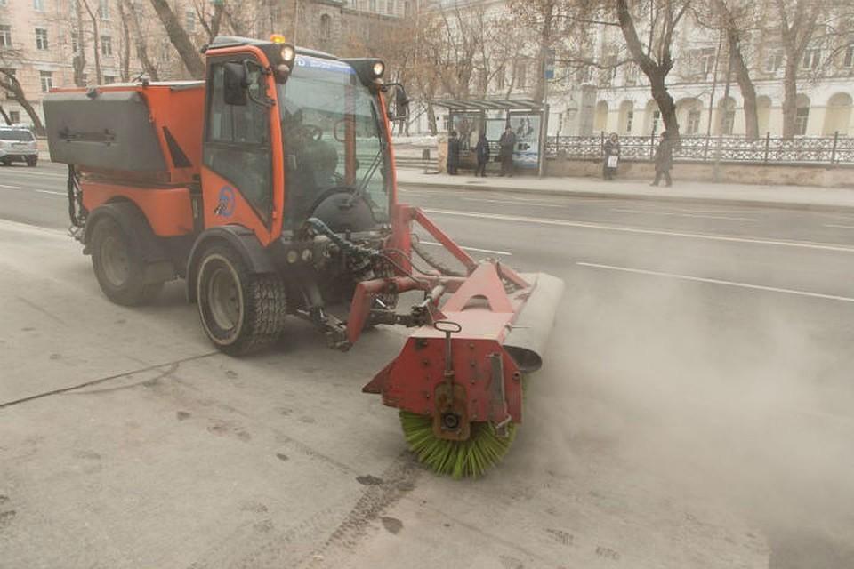 """""""Песчаная буря"""" в центре Петербурга - уже нормальное явление."""