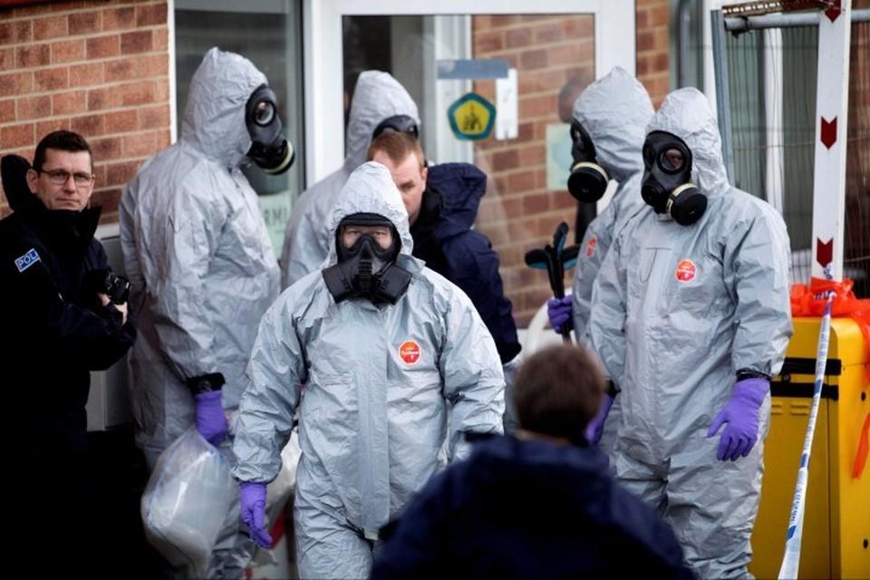 Расследование отравления британского шпиона Сергея Скрипаля в Солсбери