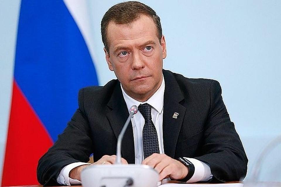 Премьер-министр РФ Дмитрий Медведев. Фото: Дмитрий Астахов/пресс-служба правительства/ТАСС