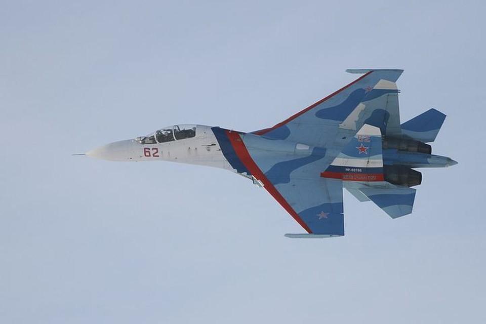 Российские летчики пять раз за неделю поднимались на перехват иностранных воздушных разведчиков