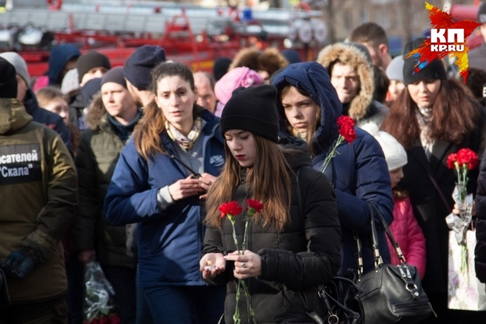 Погибших при пожаре в ТЦ «Зимняя вишня» оказалось меньше, чем называли раньше