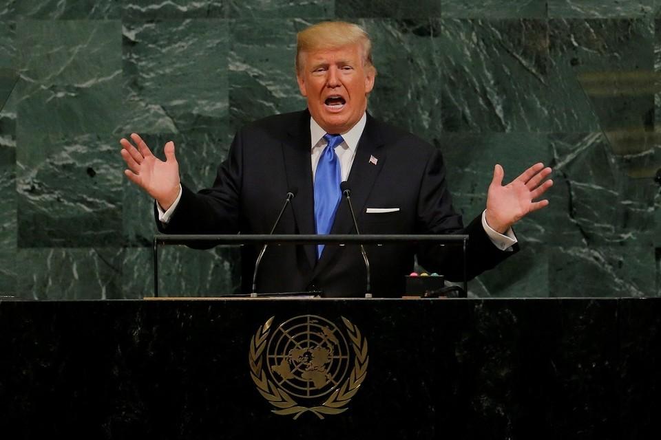 """Президент США Дональд Трам попал в категорию """"Лидеры"""" рейтинга 100 самых влиятельных людей мира по версии Time за 2018 год"""