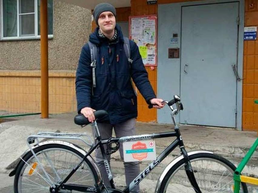 Смотреть онлайн бесплатно на велосипеде член