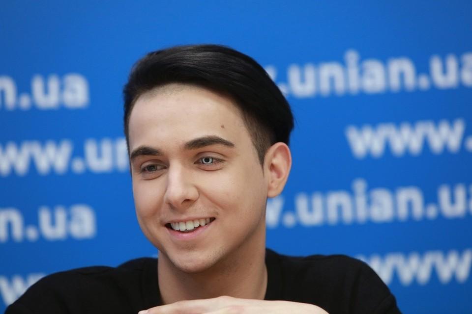 Украинский певец Melovin