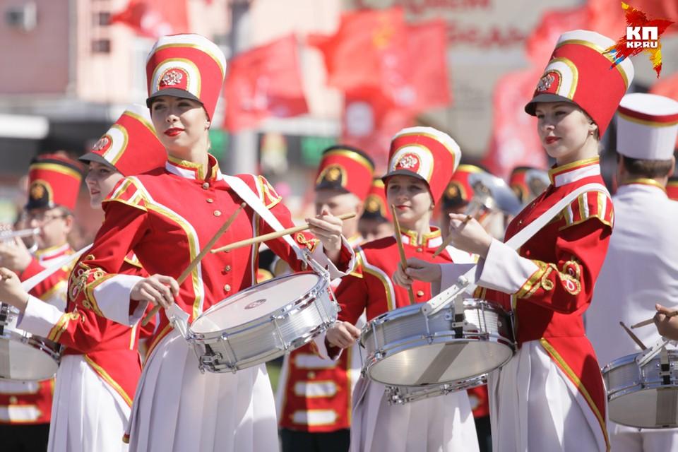 День Победы в Барнауле
