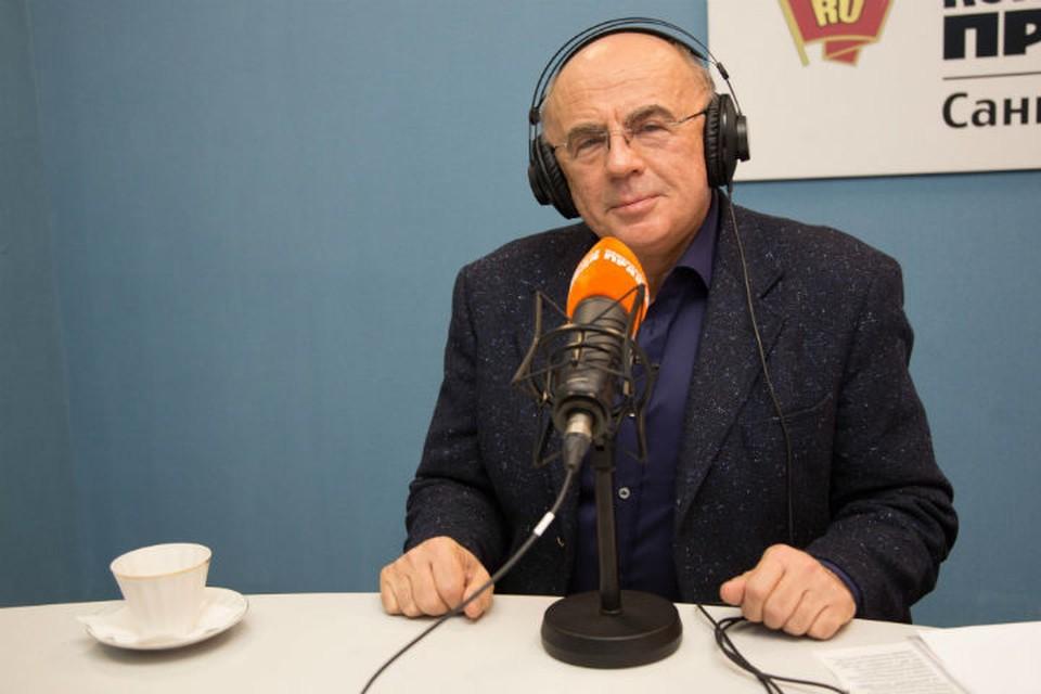 Ученый в гостях у Радио «Комсомольская правда в Санкт-Петербурге»