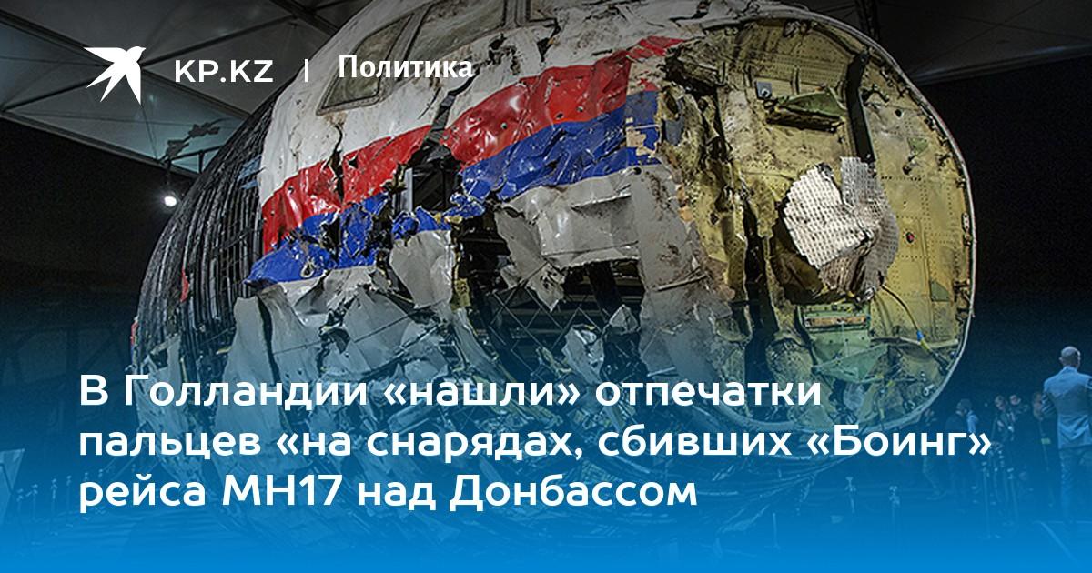 fc5e244731f27 В Голландии «нашли» отпечатки пальцев «на снарядах, сбивших «Боинг» рейса  МН17 над Донбассом