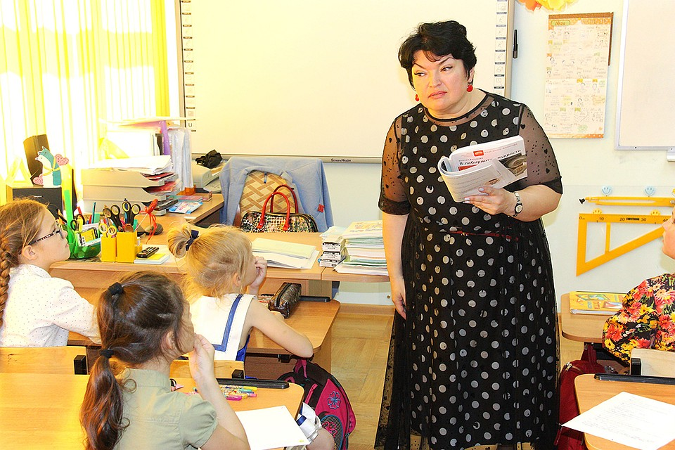 Педагог лицея №32 Елена Савранская победила в номинации «Лучший учитель». Пресс-служба Правительства Белгородской области