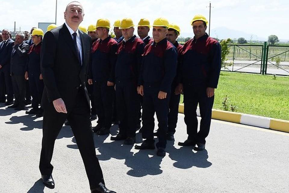 Ильхам Алиев торжественно открыл так называемый Южный газовый коридор. Фото: Пресс-служба президента Азербайджана