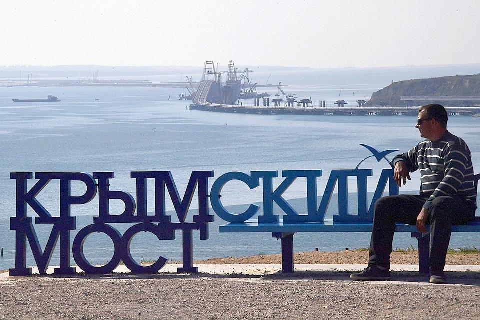 15 мая было открыто движение легкового автотранспорта по Крымскому мосту