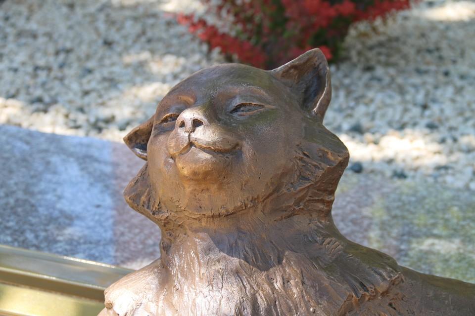 Йошкин кот самодовольно улыбается