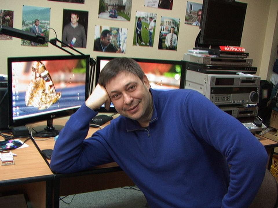 Квартиру главного редактора «РИА Новости Украина» Кирилла Вышинского в Киеве ограбили