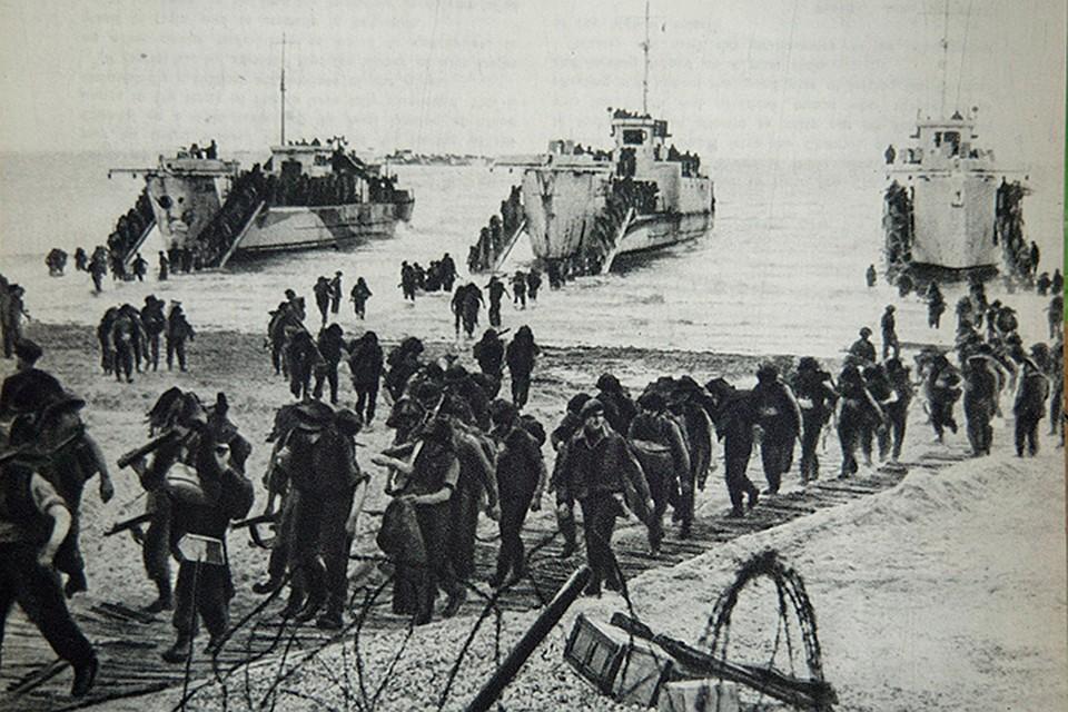 Запад менее чем за год конца войны всё же открыл против Третьего рейха второй фронт, высадившись на северо-востоке Франции