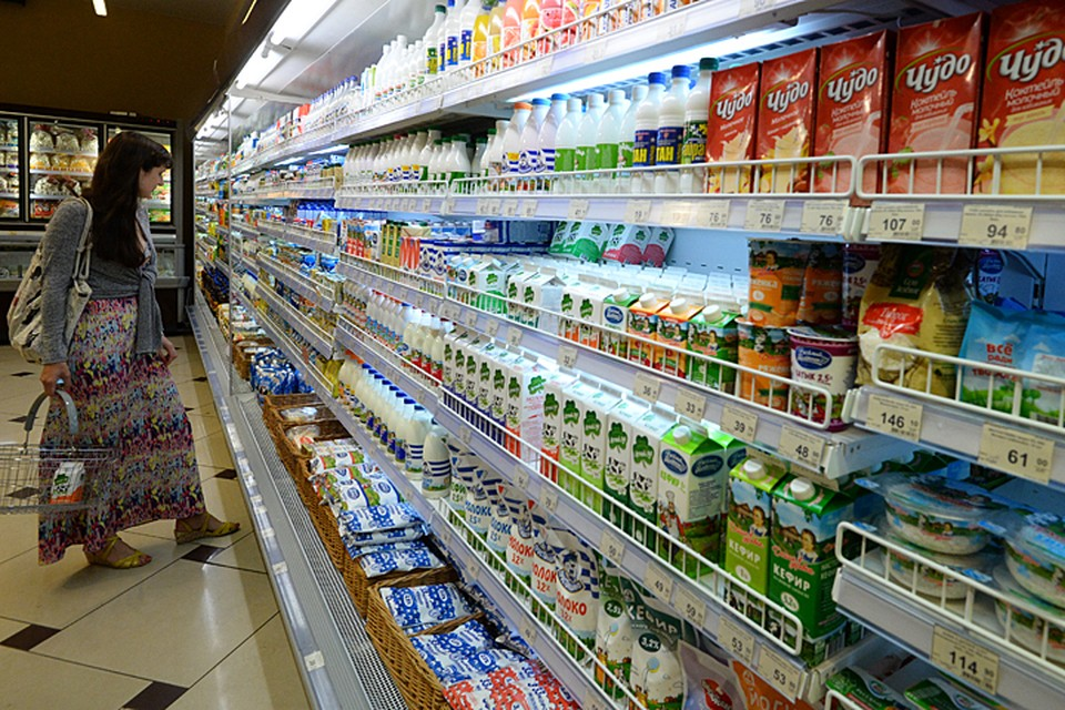 Молочный рынок Росиии огромен