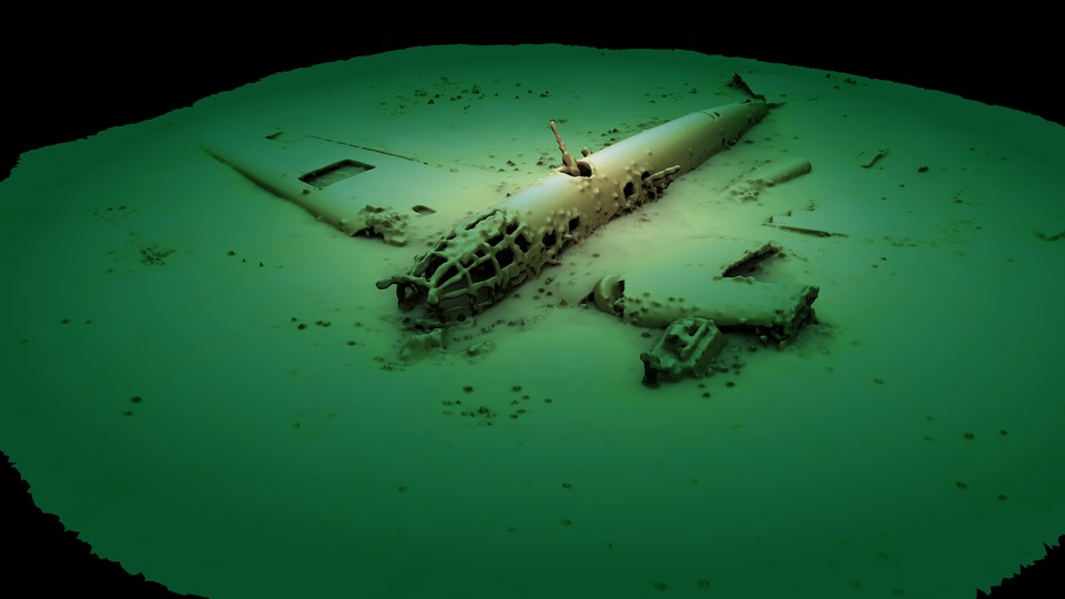 """Разработчики не только создали уникальную реконструкцию бомбардировщика, но и паспортизировали объект/Фото: экспедиция """"Нептун"""""""