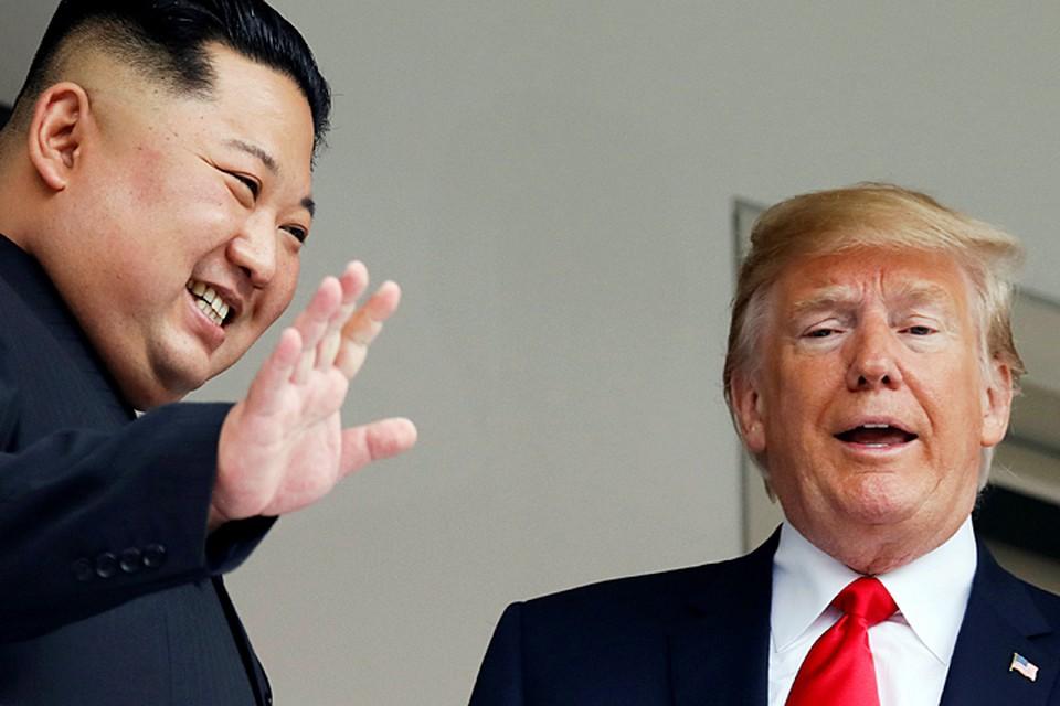 Дональд Трамп встретился со своим северокорейским коллегой.