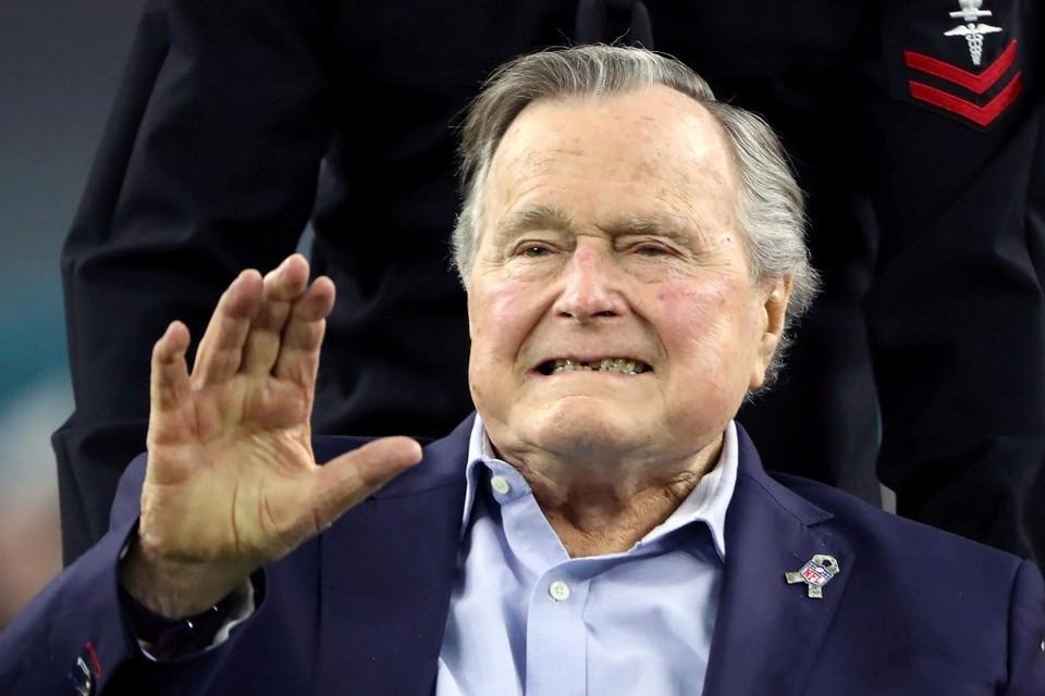 Экс-президент США Джордж Буш-старший
