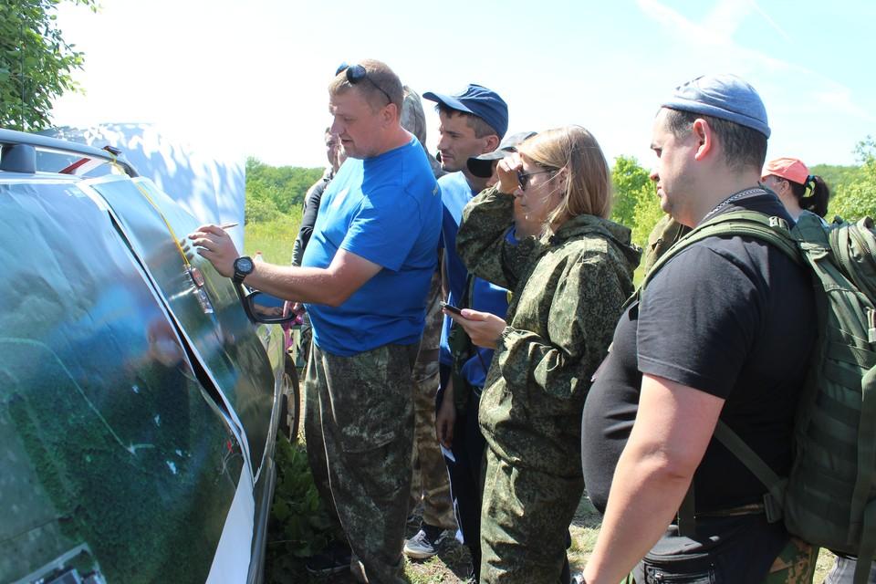 """Участники ПСО """"Черноземье"""" провели учения по поиску пропавших людей"""
