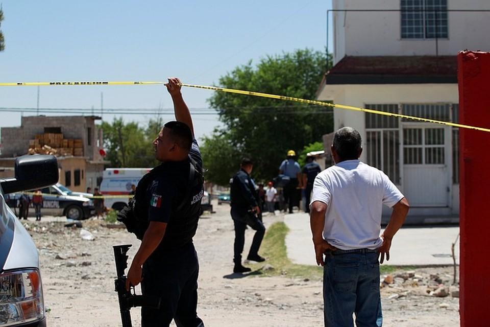 В Мексике задержали подозреваемый в убийстве полицейских