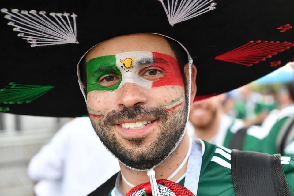 Мексиканские болельщики - одни из самых колоритных.