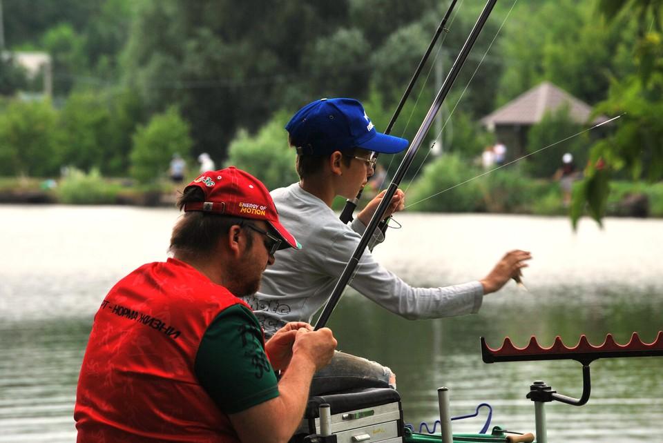 В Саратове прошел фестиваль семейной рыбалки
