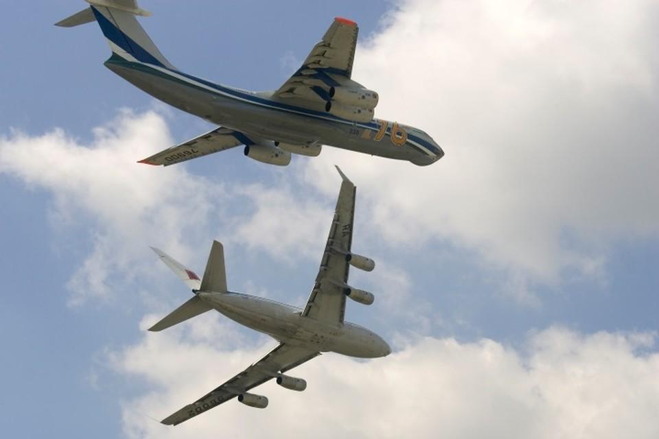 Ил-96 и Ил-76
