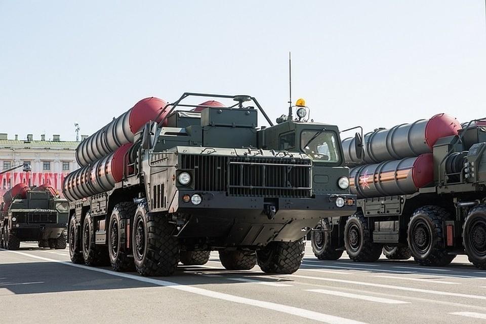 Зенитная ракетная система большой и средней дальности