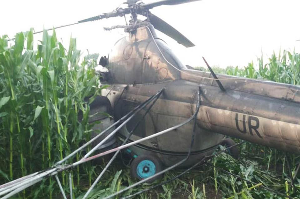 Пилот пытался сбежать с места инцидента. Фото: cn.npu.gov.ua