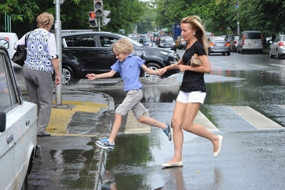 В Москве в субботу возможен небольшой дождь