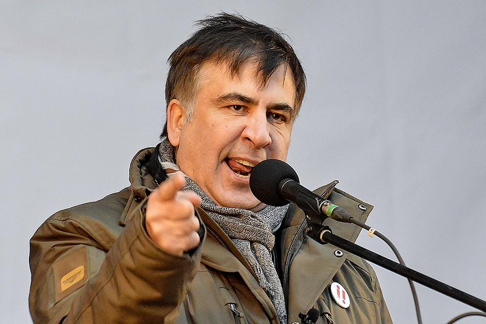 Михаил Саакашвили: Порошенко президент-дебил!