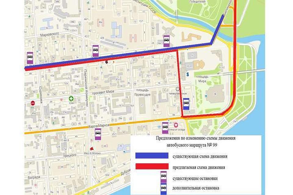 Схема маршрутов в орле фото 560