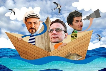 Лодка экспедиции «Вниз по матушке, по Волге» получила пробоину под Волгоградом