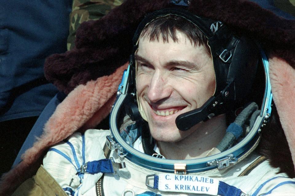 Жизнь и необычные приключения космонавта Сергея Крикалева