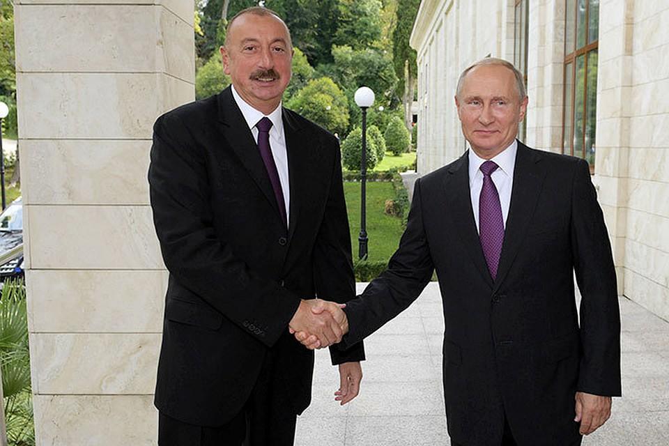 Путин и Алиев обсудили общий коридор 2e44284ca6d1a