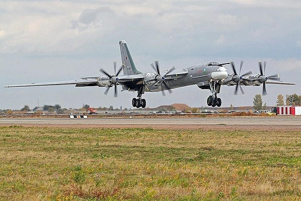Российский бомбардировщик Ту-95МС
