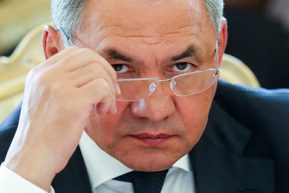 Глава Минобороны РФ Сергей Шойгу. Фото: Сергей Савостьянов ТАСС