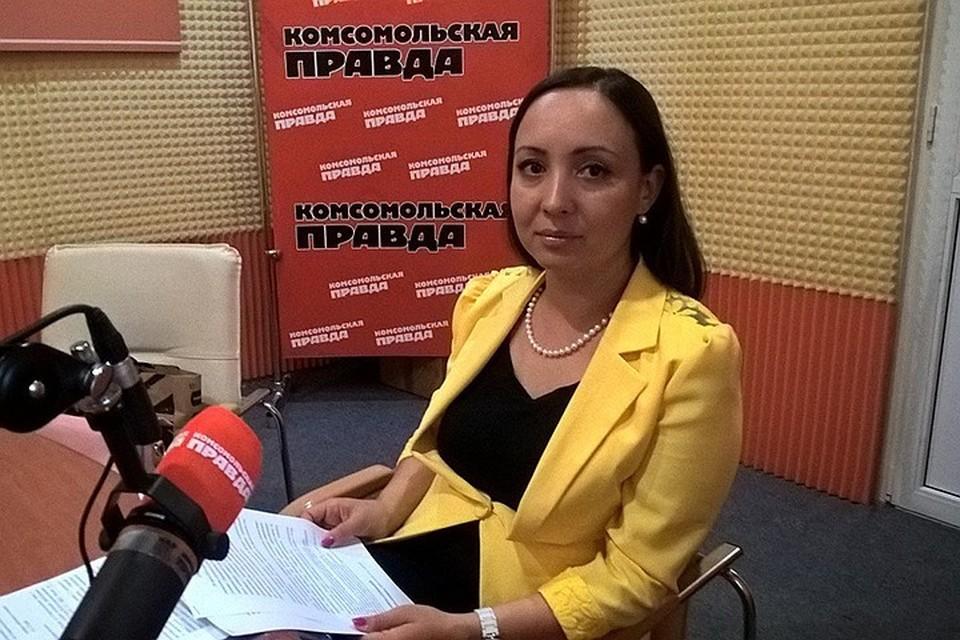 Начальник отделения регистрации несчастных случаев управления уголовного розыска краевого управления полиции Елена Решоткина