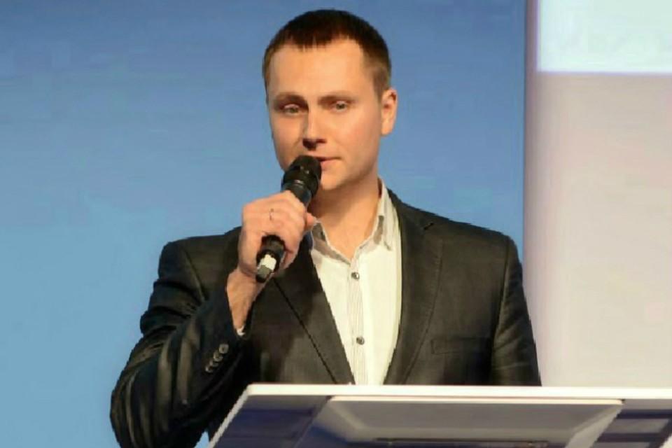 О новой разработке рассказал директор ИТ-парка Илья Ольшанский. Фото: vk.com/omsk_it_park