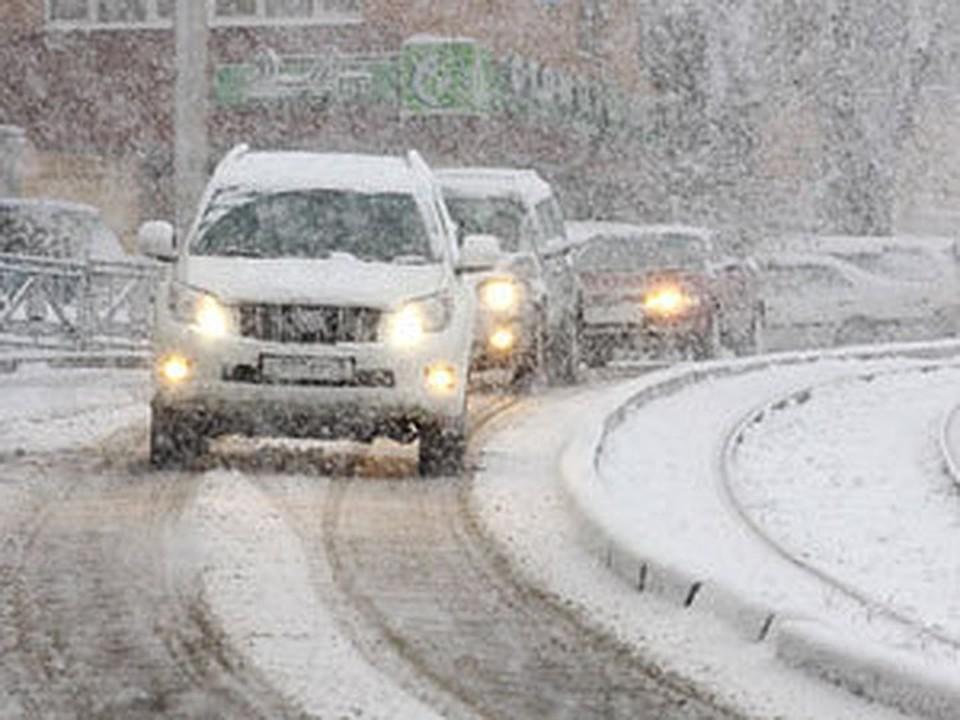 На Китай обрушился сильный снегопад