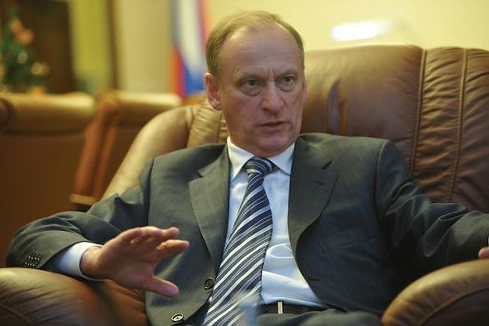 Секретарь Совета безопасности России Николай Патрушев