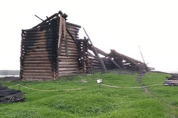 На месте сгоревшей церкви в Кондопоге нашли алтарь более древнего сооружения