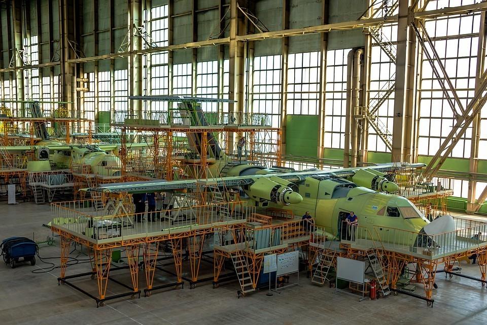 Новейший военно-транспортный самолет Ил-112В. Фото: uacrussia.ru