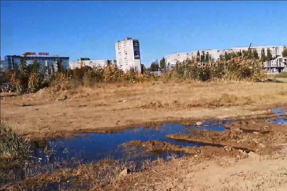 a6874857f59 В Волгограде в фекалиях утонули пруд и три многоэтажки