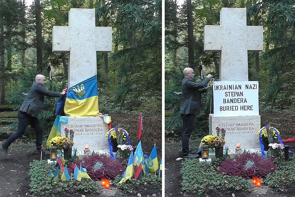 Український міністр закордонних справ відреагував на плюндрування могили відомого прикарпатця у Мюнхені